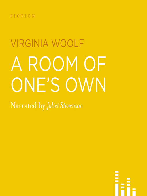 Title details for A Room of One's Own by Virginia Woolf - Available