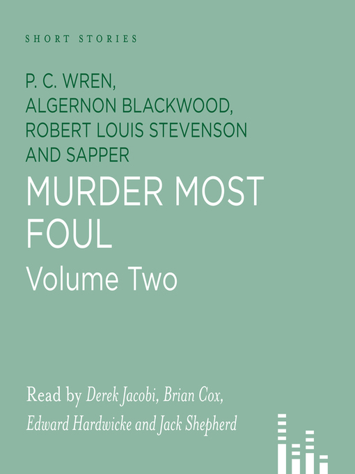 Title details for Murder Most Foul 2 by Algernon Blackwood - Available