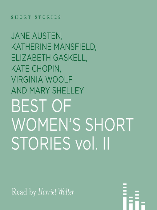Title details for Best of Women's Short Stories 2 by Jane Austen - Wait list