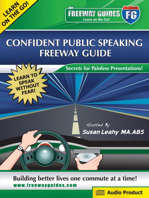 Title details for Confident Public Speaking by Susan Leahy, M.A. ABS - Wait list