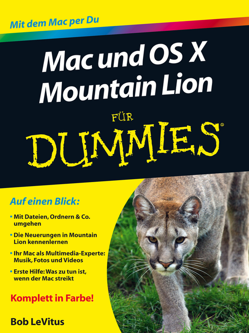 Title details for Mac und OS Mountain Lion fur Dummies by Edward C. Baig - Available