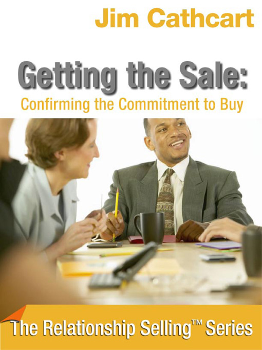 Title details for Getting the Sale by Jim Cathcart - Available