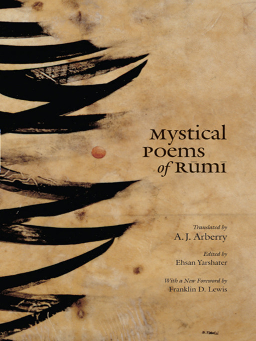 Title details for Mystical Poems of Rumi by Jalal al-Din Rumi - Available