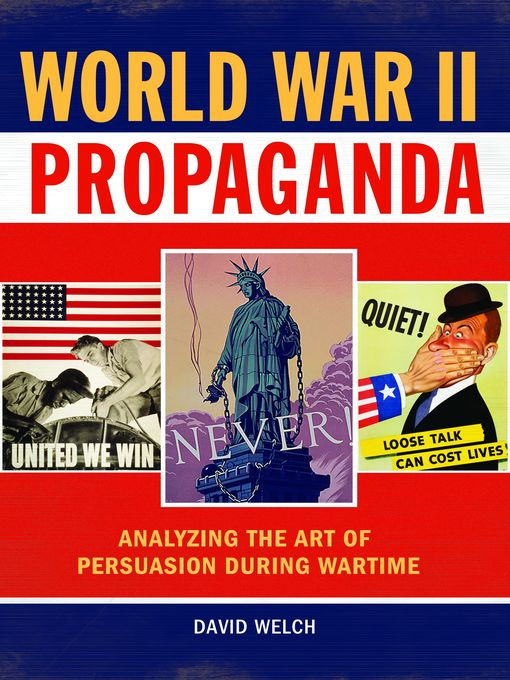 the use of fallacies in the american propaganda during war time Propaganda: mind manipulation and manufacturing politicians have used this during the last 100 years and the relationship between war, propaganda and.
