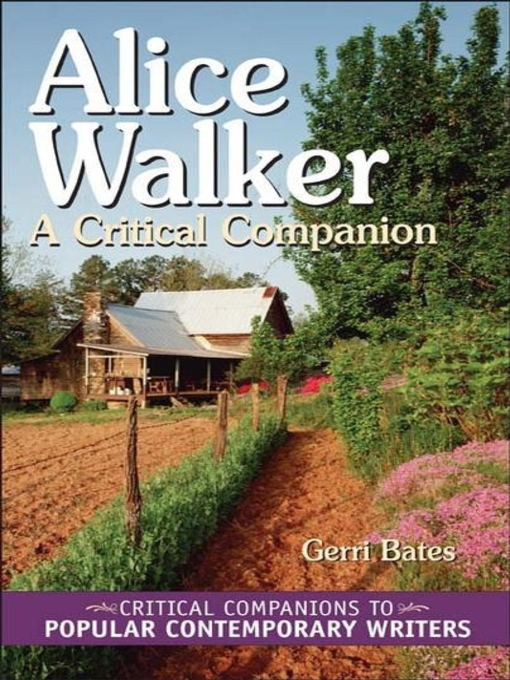 critical essays on alice walker View and download alice walker essays examples also discover topics, titles, outlines, thesis statements, and conclusions for your alice walker essay.