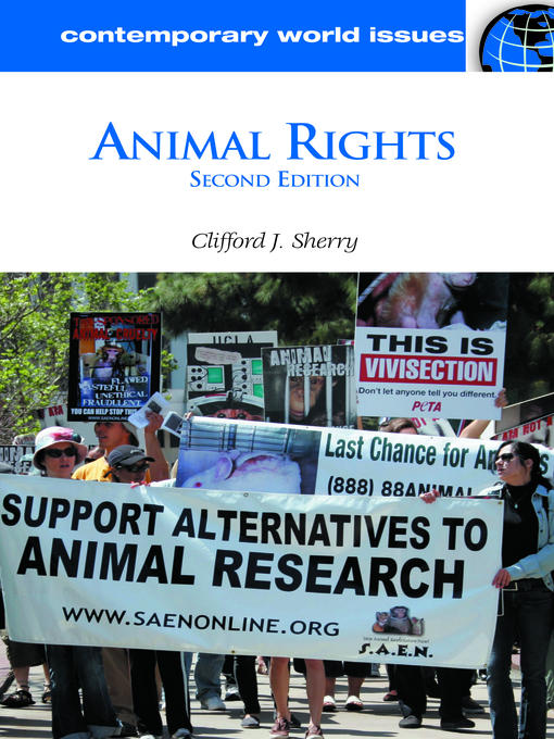 animal rights the issue of