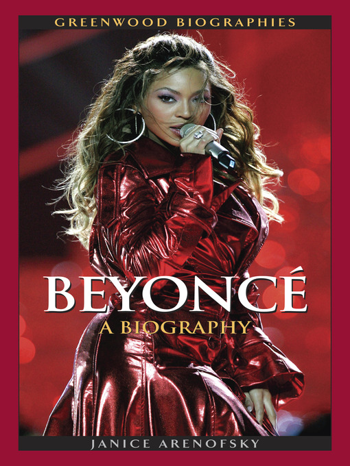 Title details for Beyonce Knowles by Janice Arenofsky - Available