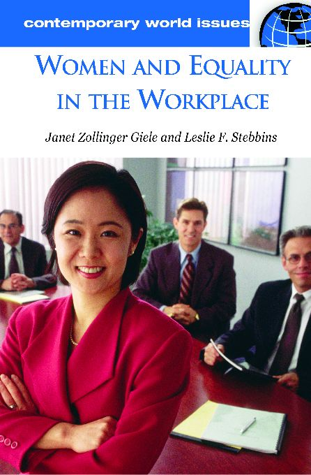 Cover of Women and Equality in the Workplace