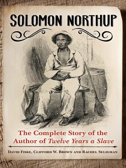 Title details for Solomon Northup by David Fiske - Available