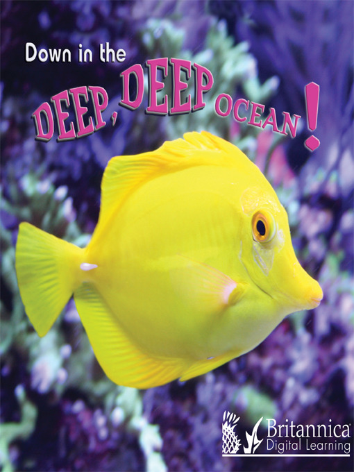Cover of Down in the Deep Deep Ocean