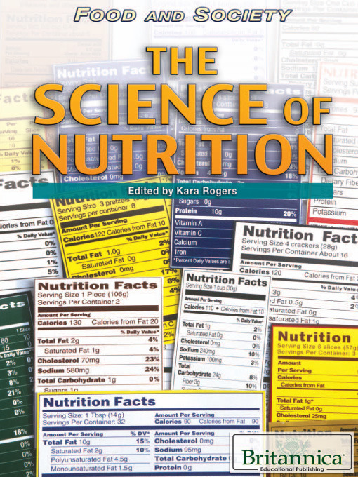 Title details for The Science of Nutrition by Britannica Educational Publishing - Wait list