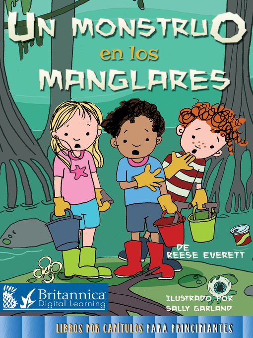 Cover image for book: Un monstruo en los manglares (Monster in the Mangroves)