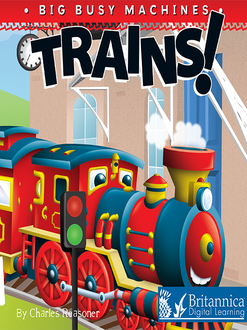 Cover of Trains!
