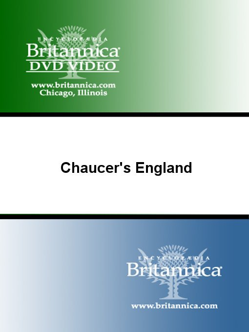 Cover of Chaucer's England