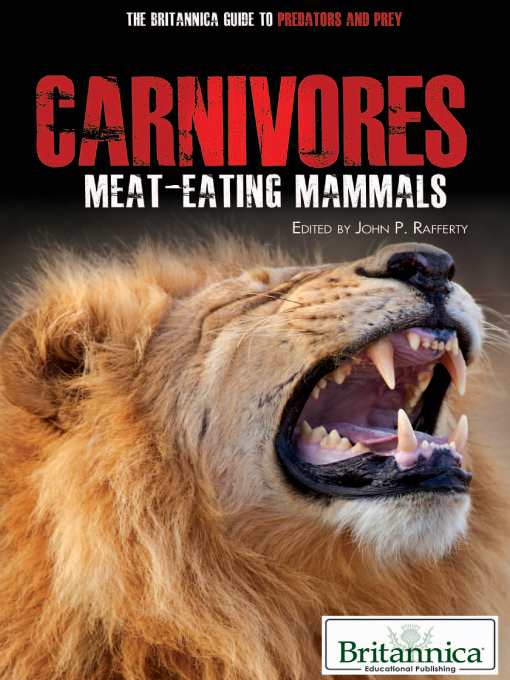 Title details for Carnivores by Britannica Educational Publishing - Wait list