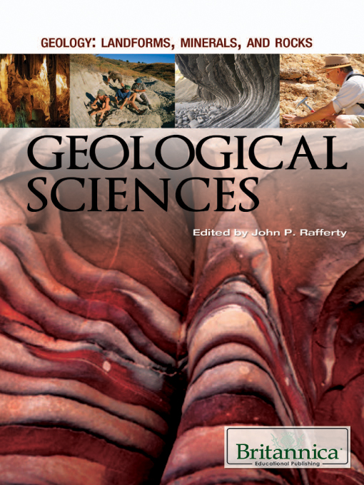 Title details for Geological Sciences by Britannica Educational Publishing - Wait list