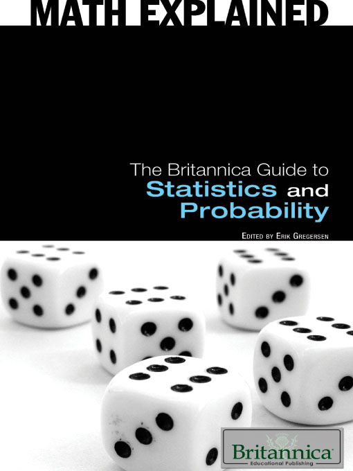 Cover of The Britannica Guide to Statistics and Probability