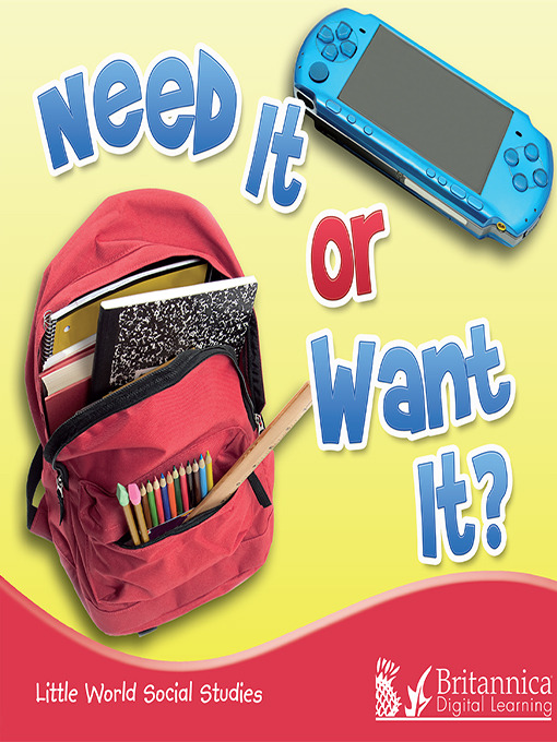 Title details for Need It or Want It? by Colleen Hord - Wait list