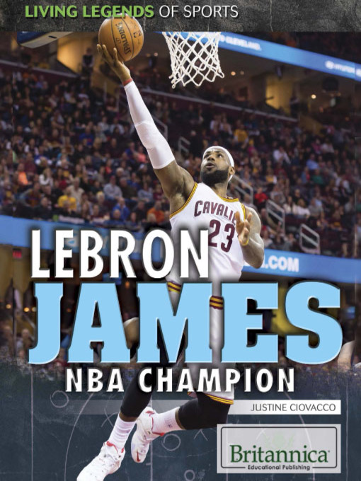 Title details for LeBron James by Justine Ciovacco - Available