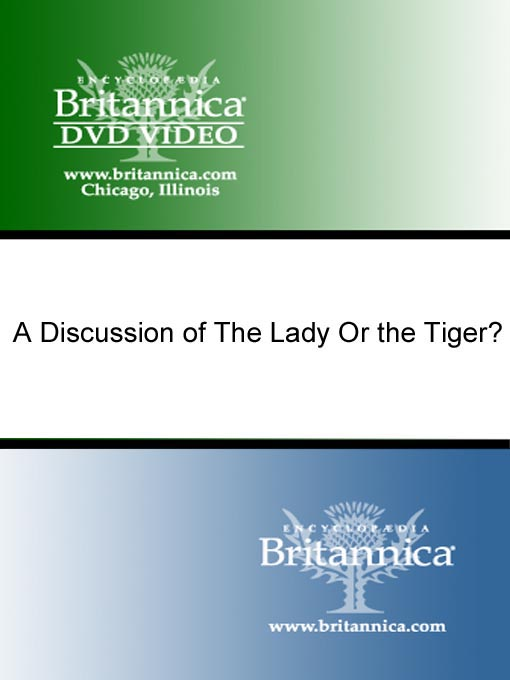Title details for A Discussion of The Lady Or the Tiger? by Encyclopaedia Britannica - Available