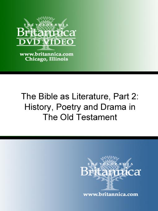 Title details for The Bible as Literature, Part 2 by Encyclopaedia Britannica - Available