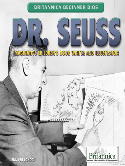 a biography of dr seuss the author of childrens books Dr seuss theodor seuss geisel (/ˈsɔɪs ˈɡaɪzəl/ ( listen) march 2, 1904 – september 24, 1991) was an american author, political cartoonist, poet, animator, book publisher, and artist, best known for authoring children's books under the.