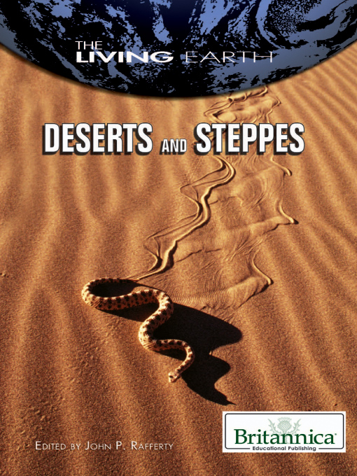 Title details for Deserts and Steppes by Britannica Educational Publishing - Available