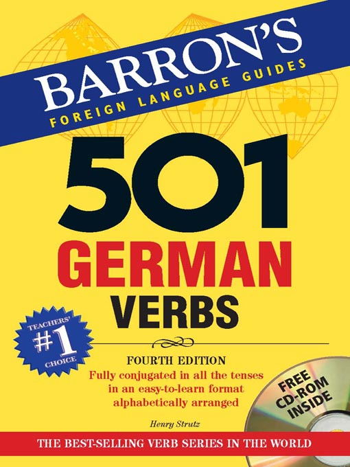 Title details for 501 German Verbs by Henry Strutz - Available