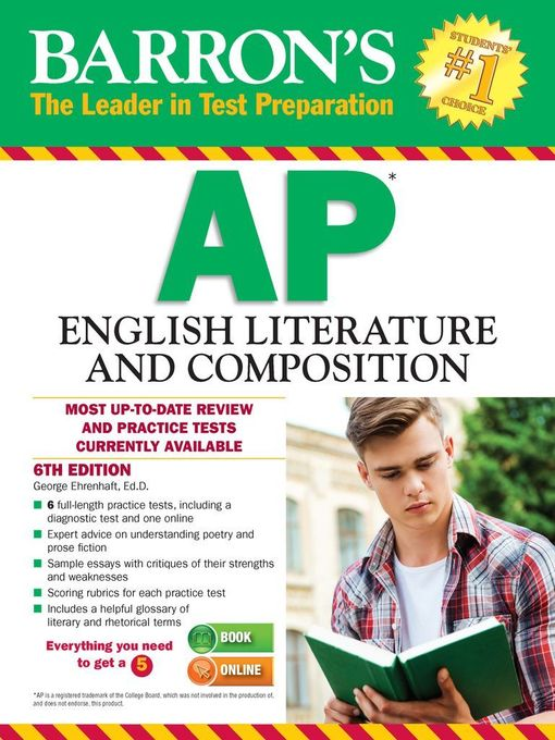 Title details for AP English Literature and Composition by George Ehrenhaft - Available