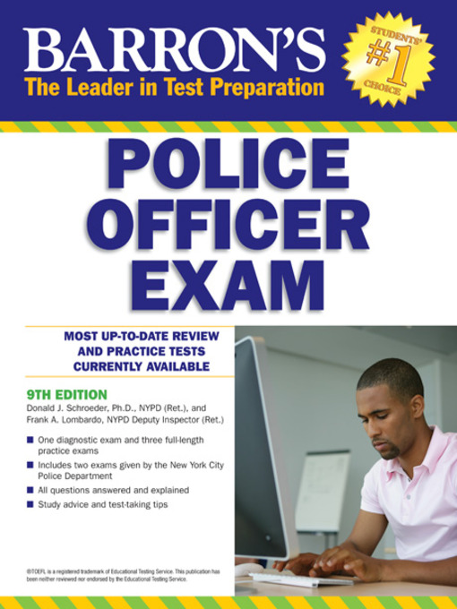Title details for Police Officer Exam by Donald Schroeder, Ph.D. - Available