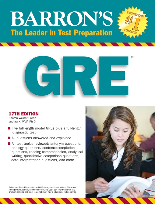 Title details for Barron's GRE by Sharon Weiner Green, M.A. - Available