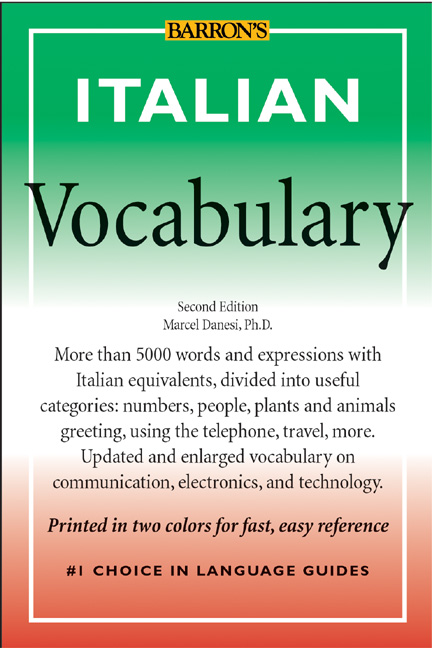 Italian vocabulary media on demand overdrive title details for italian vocabulary by marcel danesi wait list m4hsunfo