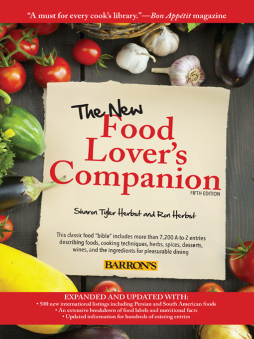 The New Food Lovers Companion Leeward Community College Overdrive