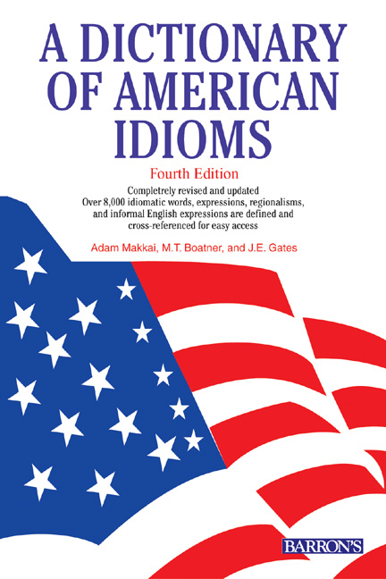 Title details for Dictionary of American Idioms by Adam Makkai - Available