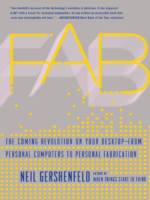 Title details for Fab by Neil Gershenfeld - Available