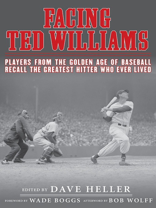 Cover image for Facing Ted Williams