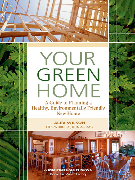 Cover of Your Green Home