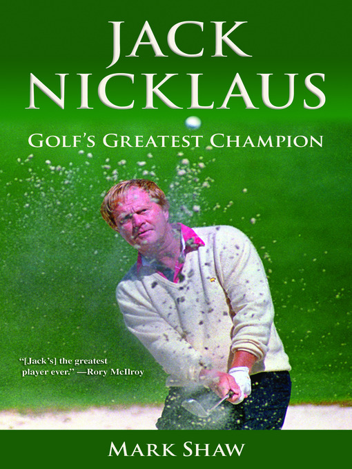 the greatest golfer jack nicklaus