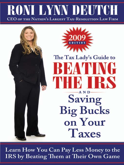 Cover of The Tax Lady's Guide to Beating the IRS and Saving Big Bucks on Your Taxes