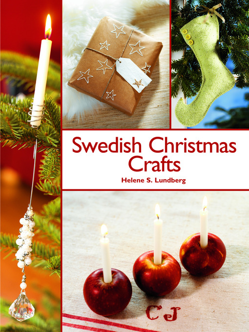 Title details for Swedish Christmas Crafts by Helene S. Lundberg - Wait list