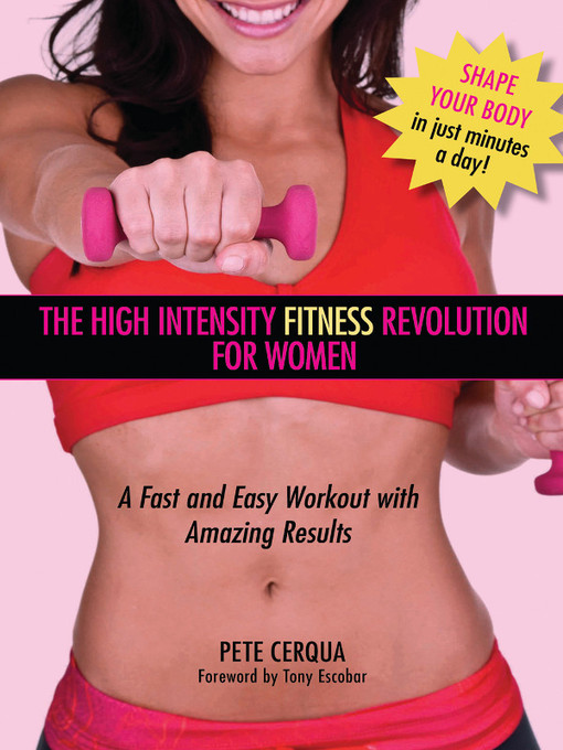 Title details for High Intensity Fitness Revolution for Women by Pete Cerqua - Available