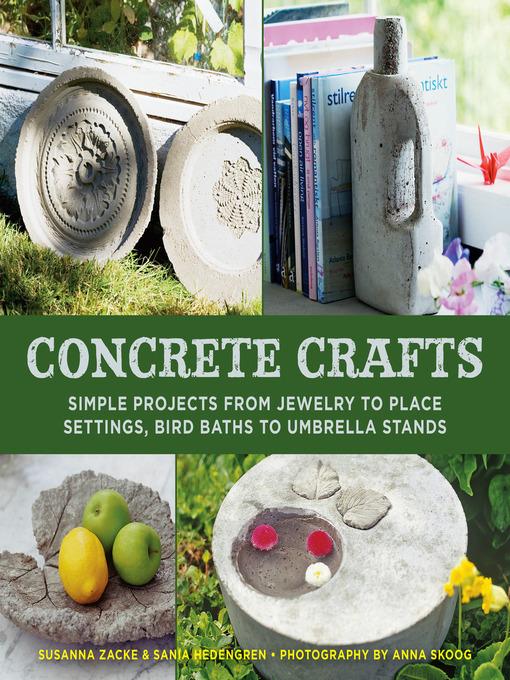 Title details for Concrete Crafts by Susanna Zacke - Wait list