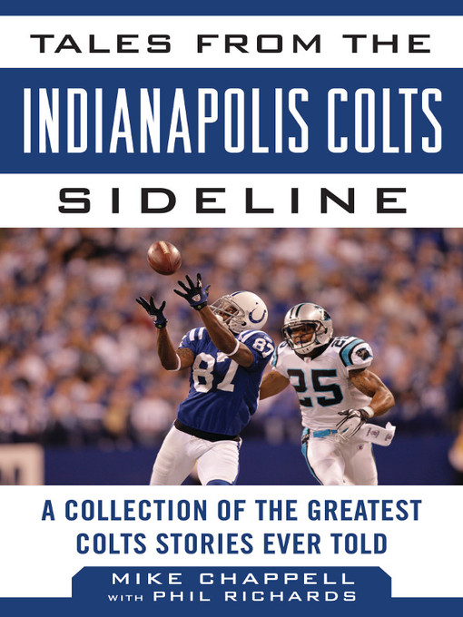 Title details for Tales from the Indianapolis Colts Sideline by Mike Chappell - Wait list