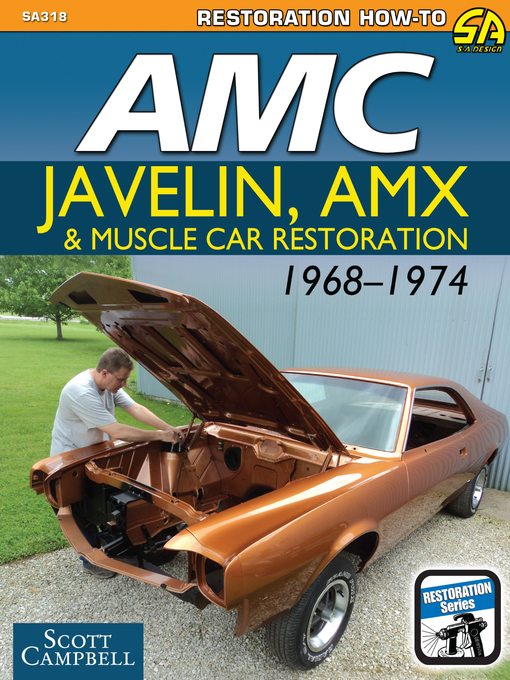 Title details for AMC Javelin, AMX, and Muscle Car Restoration 1968-1974 by Scott Campbell - Wait list