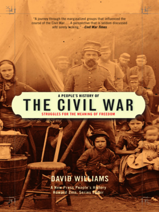 Title details for A People's History of the Civil War by David Williams - Wait list