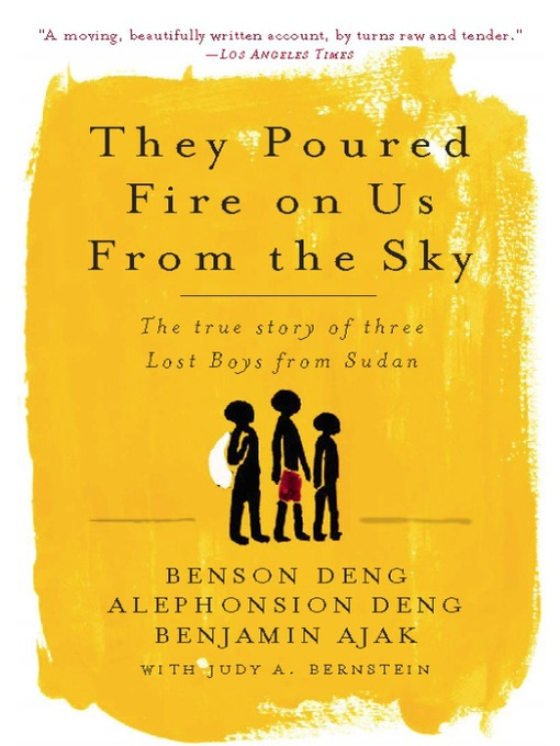 Title details for They Poured Fire on Us From the Sky by Benjamin Ajak - Wait list