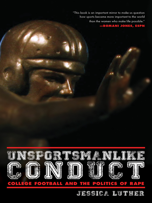 Title details for Unsportsmanlike Conduct by Jessica Luther - Available