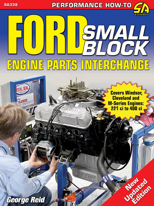 Title details for Ford Small-Block Engine Parts Interchange by George Reid - Available