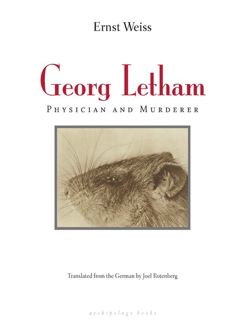 Cover of Georg Letham