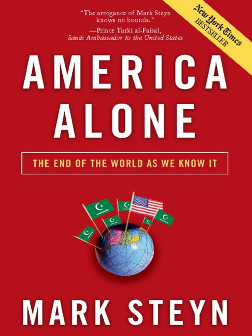 Title details for America Alone by Mark Steyn - Available